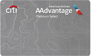 Citi AAdvantage Platinum Select Card